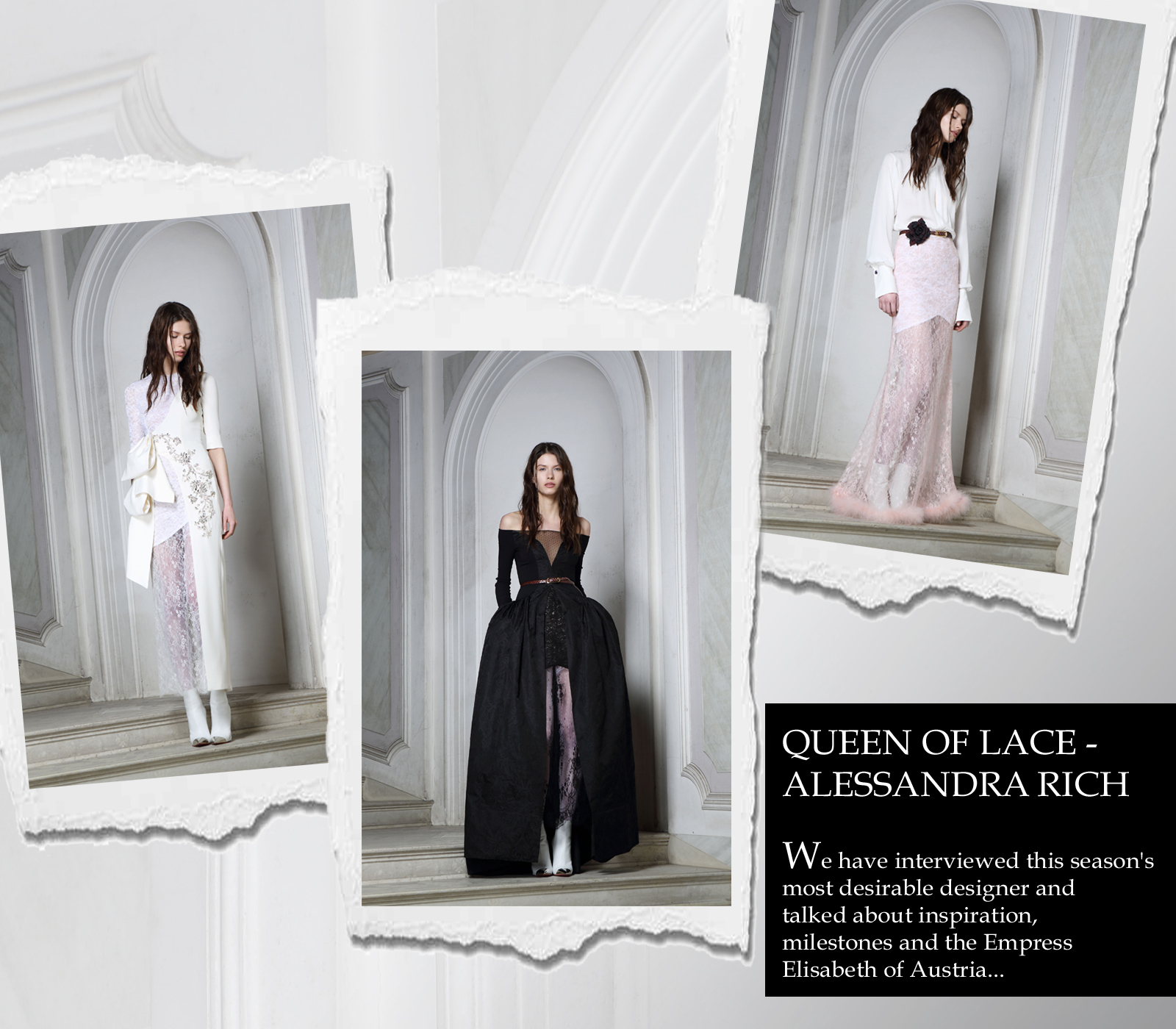 WTL Designer To Watch Alessandra Rich London
