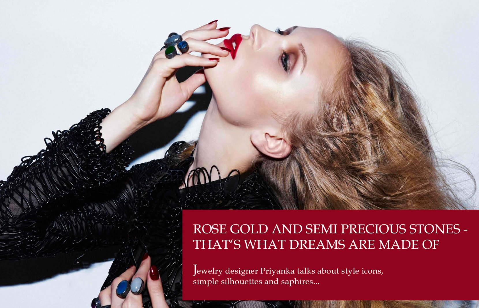 WTL Designer To Watch Priyanka London Jewelry