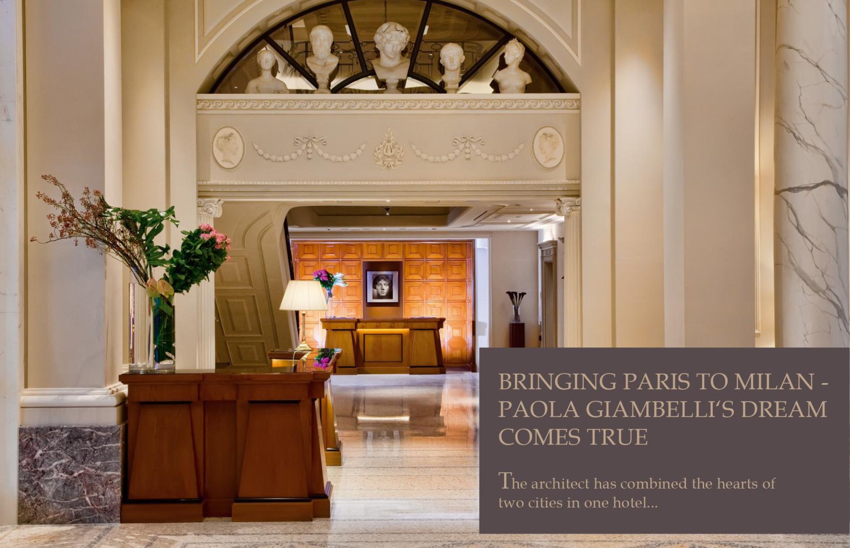 WTL Hotel To Watch PALAZZO PARIGI Milan